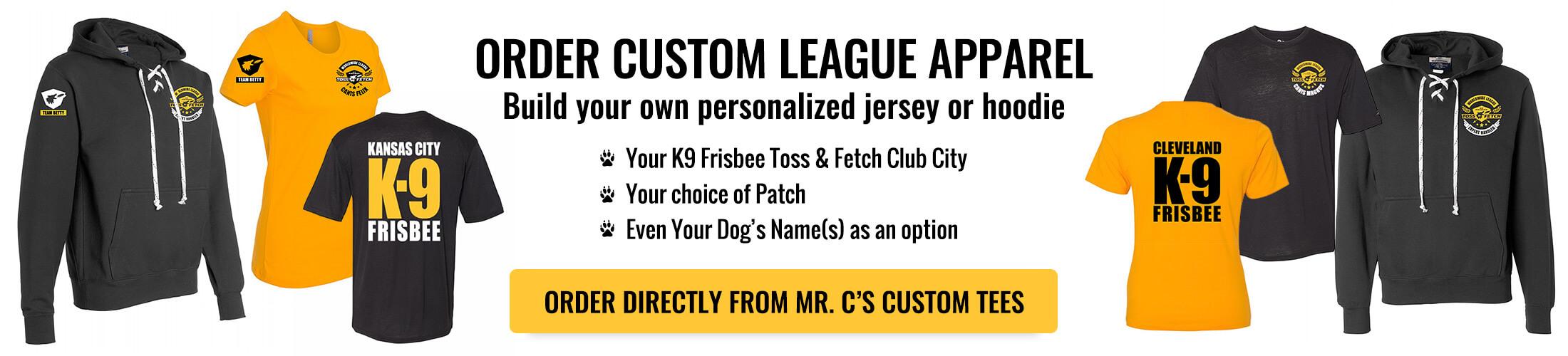 Order Custom League Apparel